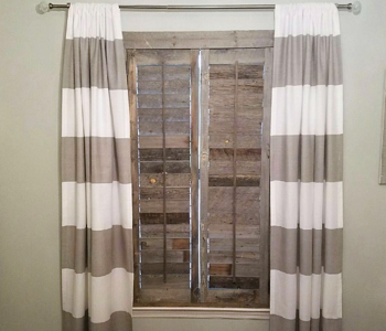 Reclaimed Wood Shutters Product In San Antonio