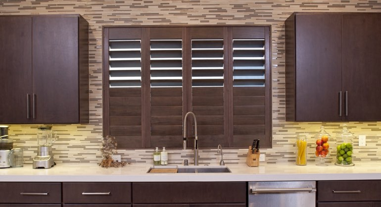 San Antonio cafe kitchen shutters