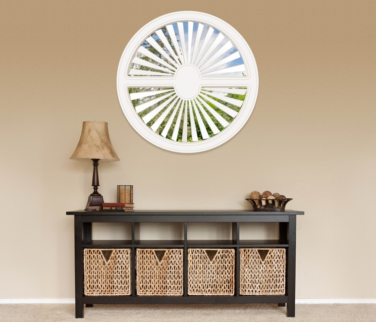 Circular Shutters in San Antonio, TX