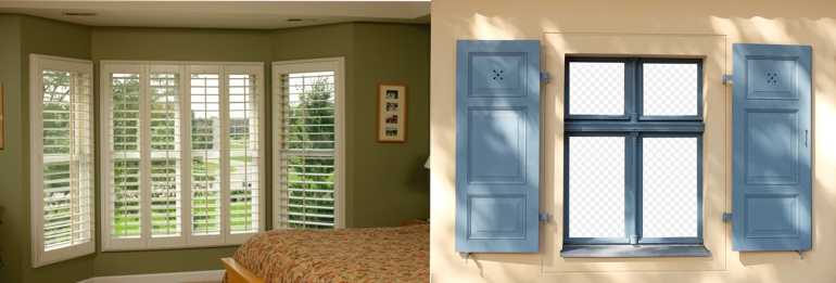 San Antonio TX outdoor and indoor shutters