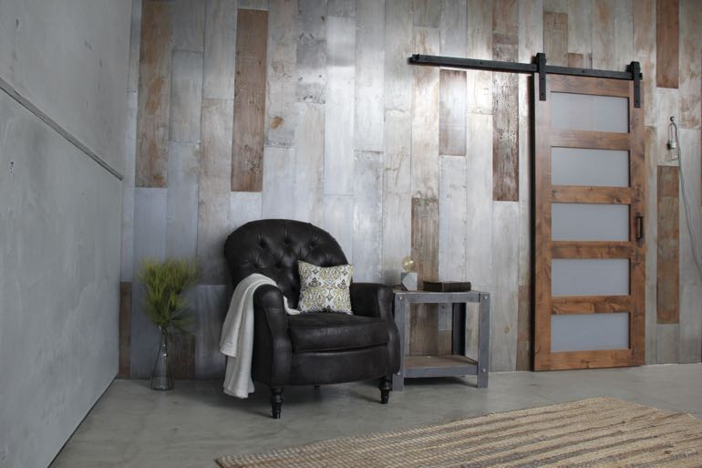 San Antonio commercial barn door
