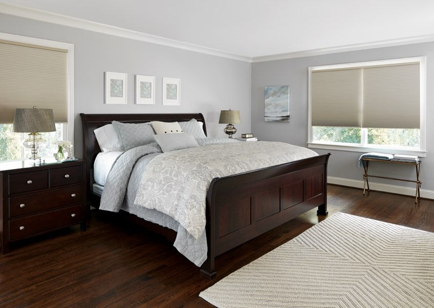 San Antonio blackout shades bedroom