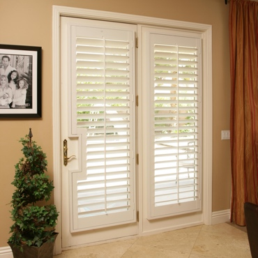 Patio French Door Shutters San Antonio