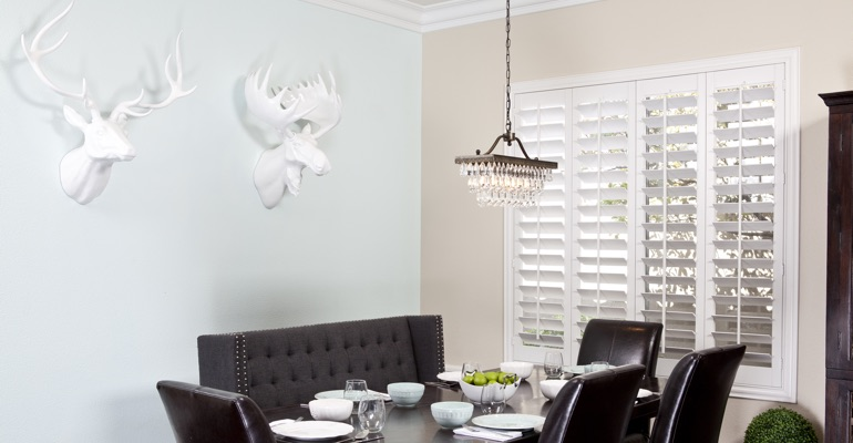 San Antonio dining room shutters