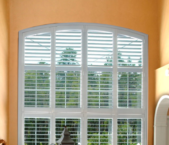 Arched Window Shutters In San Antonio, TX