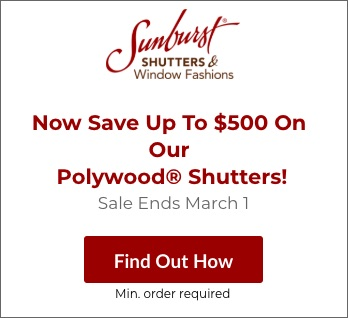 Sale on San Antonio Polywood Shutters