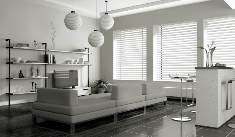 white blinds in San Antonio
