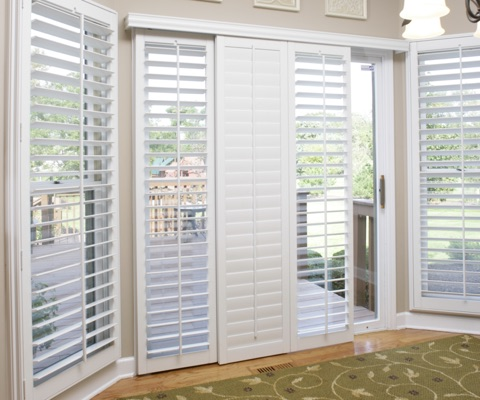 TX sliding door shutters