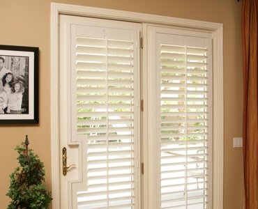 San Antonio french door shutters