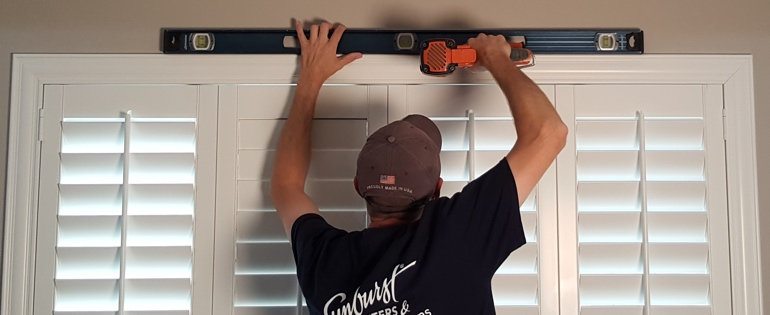 San Antonio shutter installer window measure