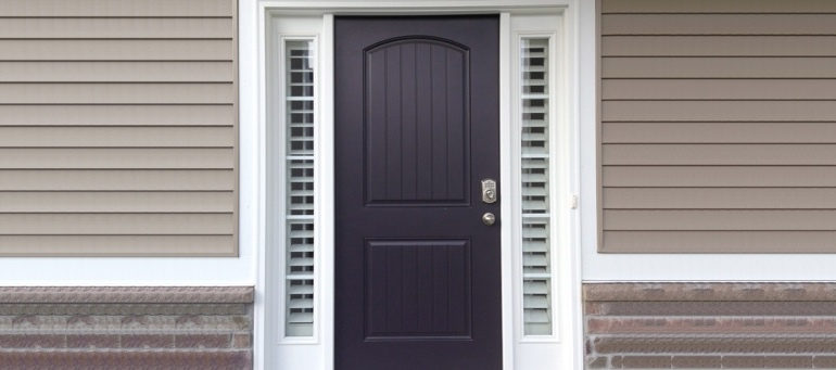 Entry Door Sidelight Shutters In San Antonio, TX