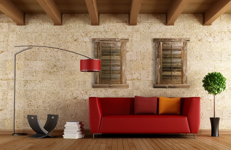 Hottest Trends In Window Treatments In San Antonio: Reclaimed Wood Shutters