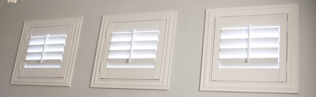 San Antonio casement window shutter.